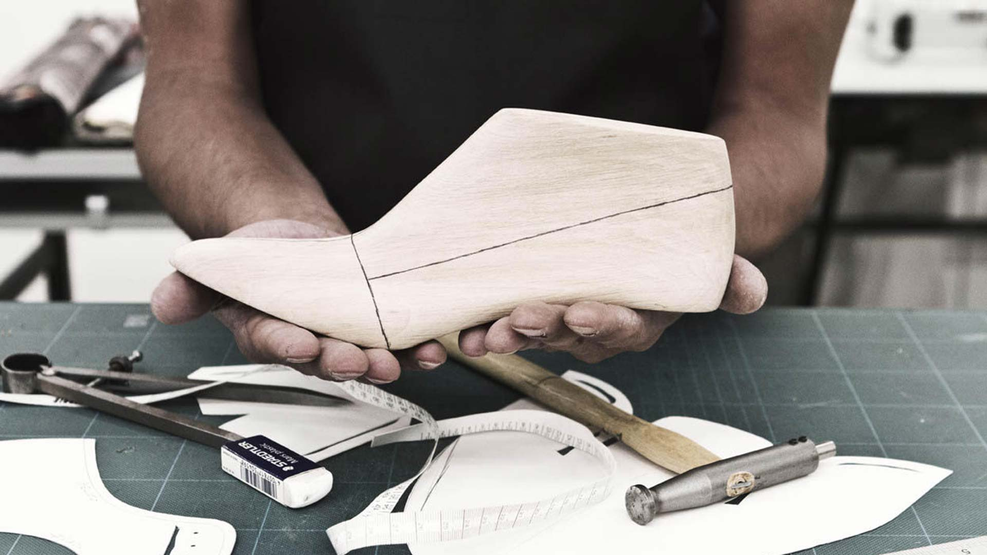Footwear pattern making and prototyping course