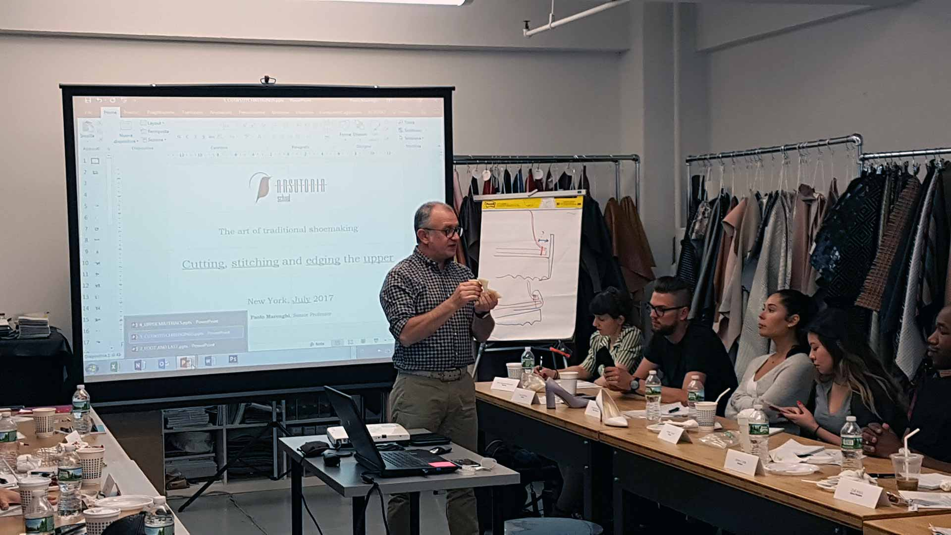 Footwear course in New York