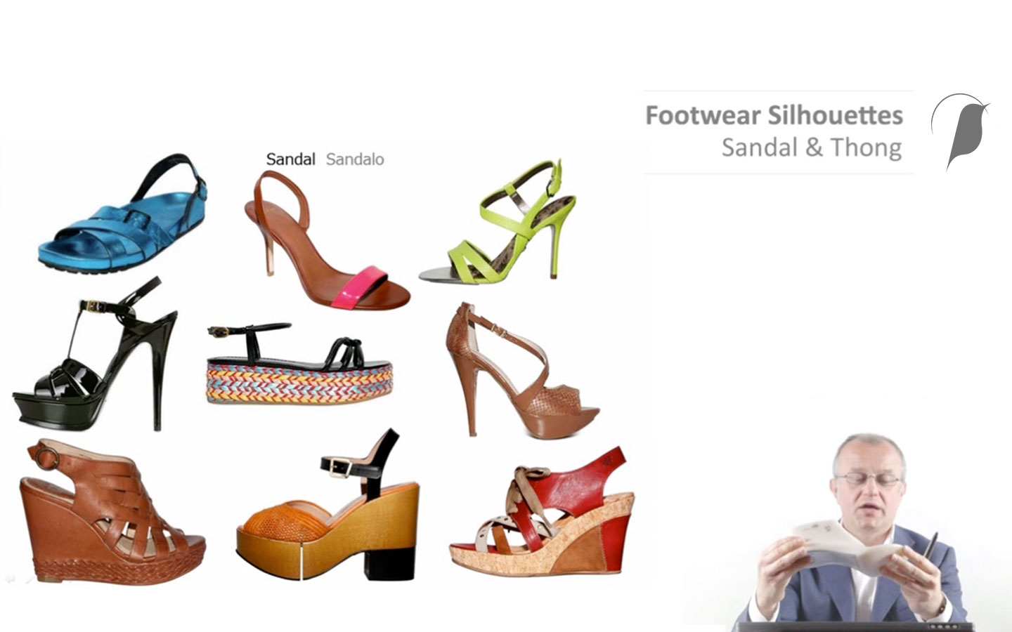 e-Learning: Footwear Silhouettes